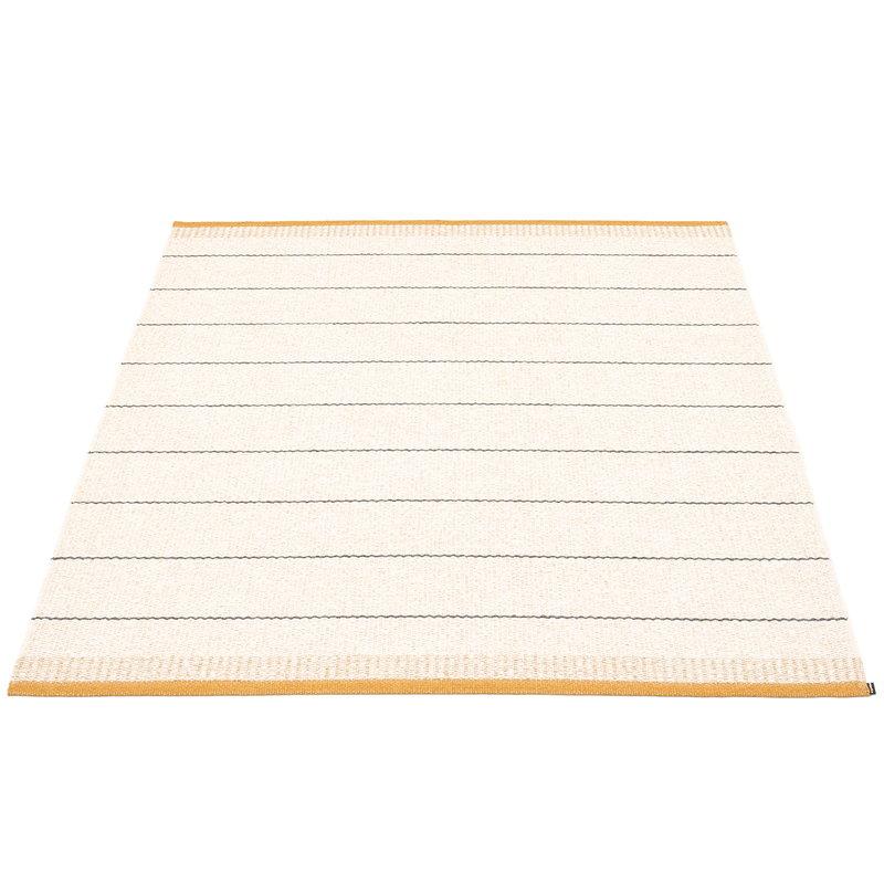 Pappelina Belle matto 140 x 200 cm, okra
