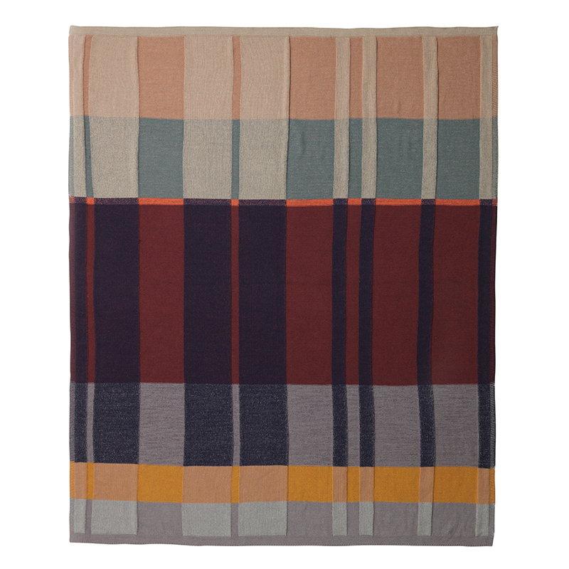 Ferm Living Coperta Medley Knit, multicolore