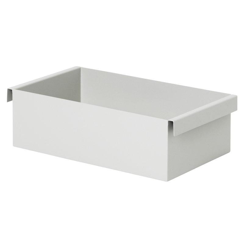 Ferm Living Contenitore Plant Box, grigio chiaro