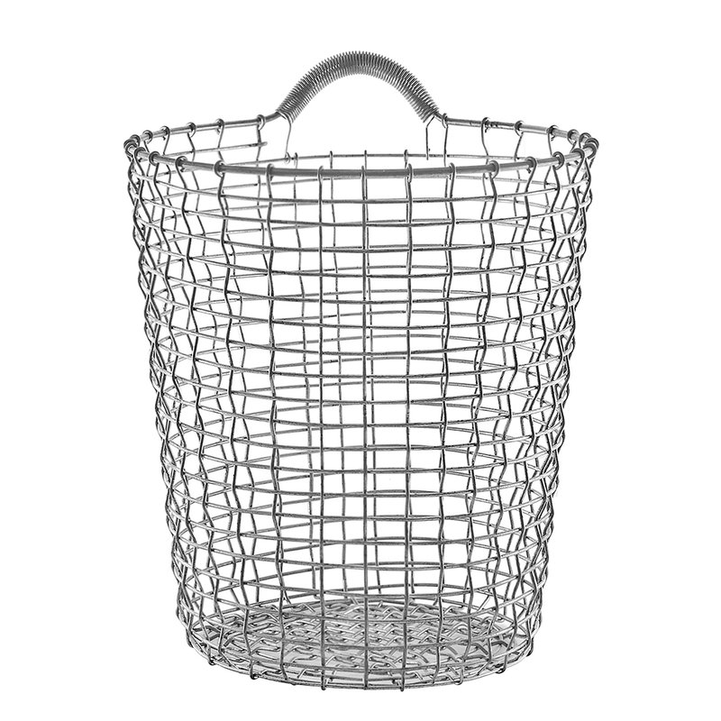 Korbo Wire Basket Bin 18, galvanized