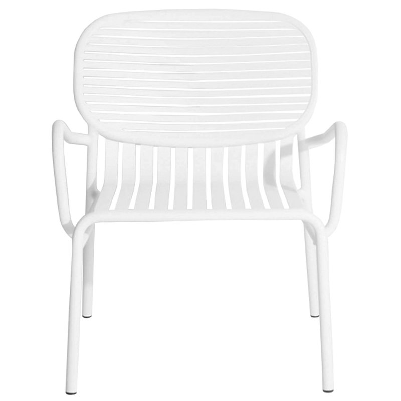 Petite Friture Week-end lounge chair, white