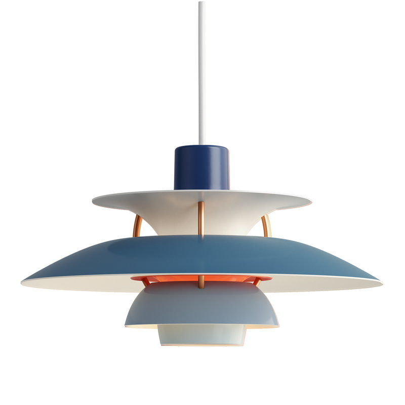 Louis Poulsen PH 5 Mini pendant, blue