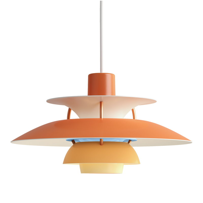 Louis Poulsen PH 5 Mini pendant, orange