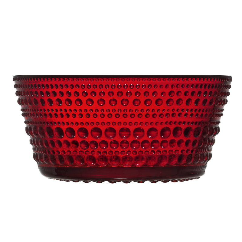Iittala Kastehelmi bowl 23 cl, cranberry