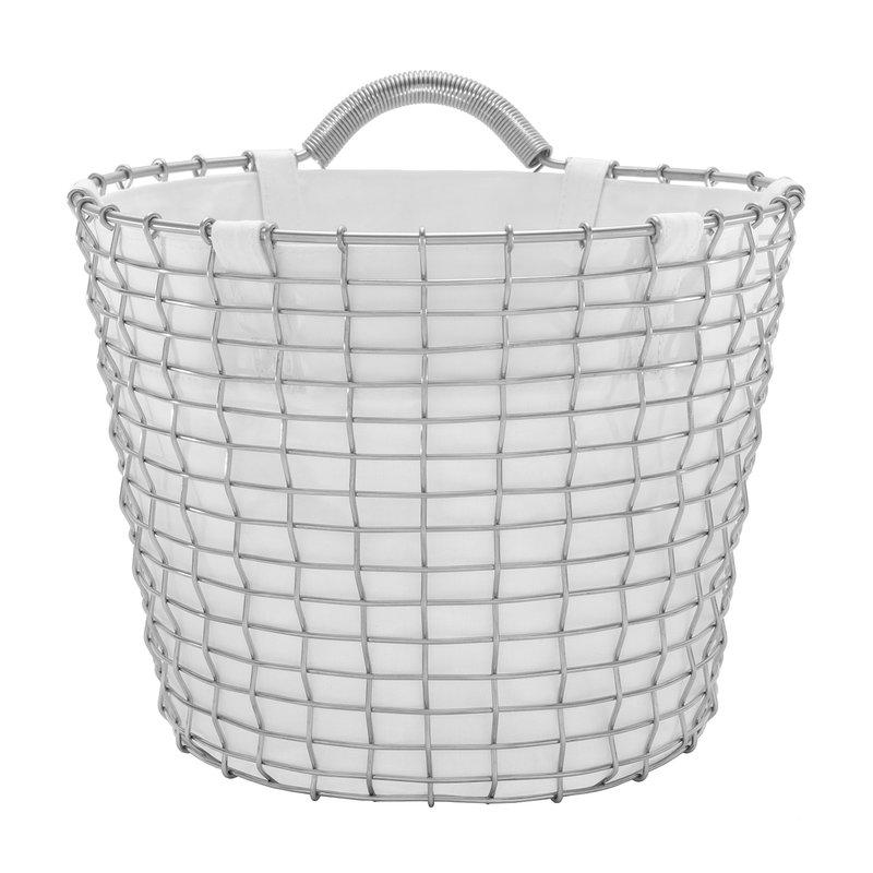 Korbo Basket Liner 24 L, white