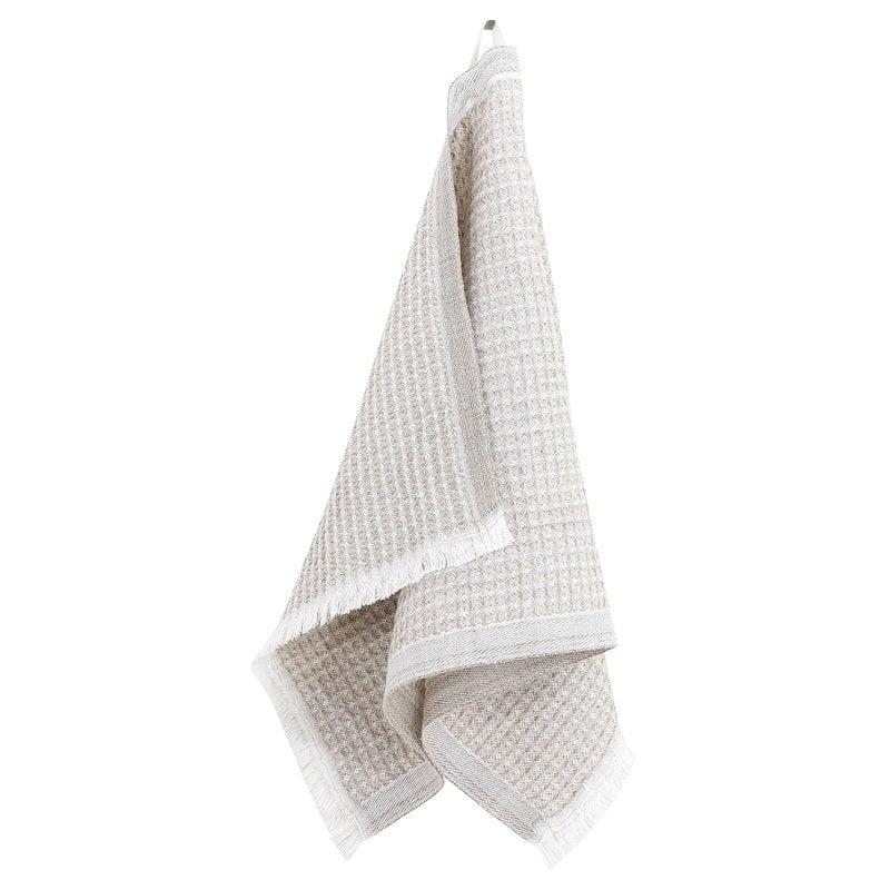 Lapuan Kankurit Laine hand towel, white - linen