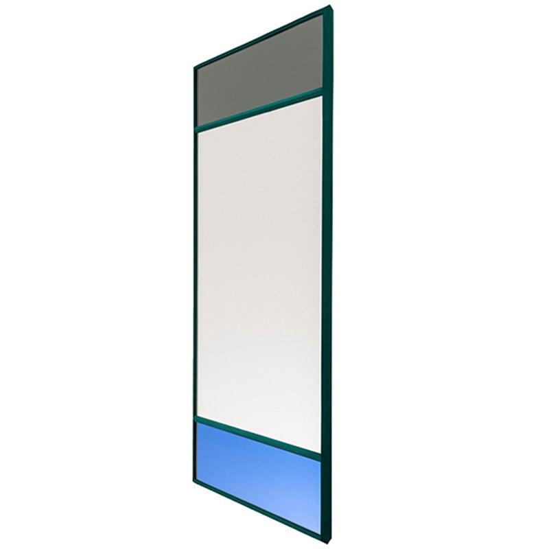 Magis Specchio Vitrail, 70 x 50 cm, verde
