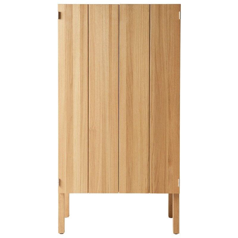 Nikari Arkitecture cabinet, 155 x 80 x 40 cm, oak
