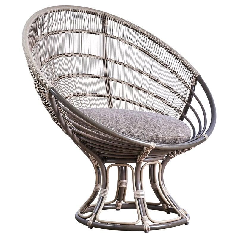 Sika-Design Luna Exterior sunchair, moccacino