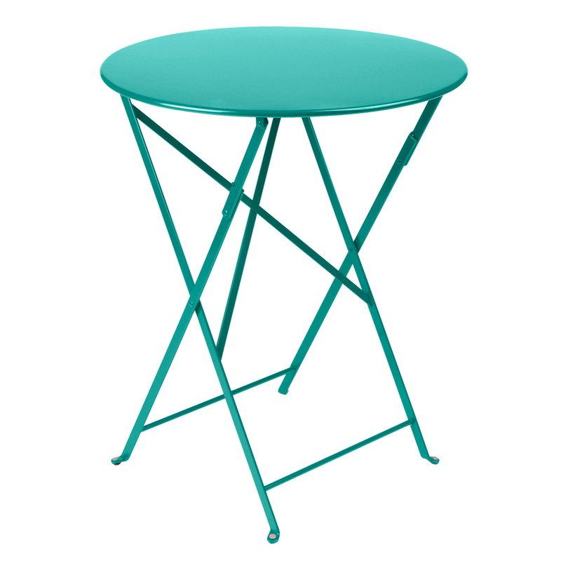 Fermob Bistro table 60 cm, lagoon blue | Finnish Design Shop