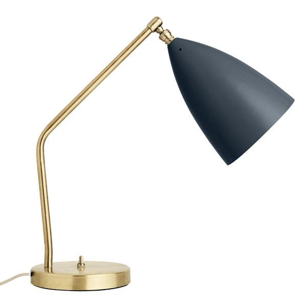 Gubi Gräshoppa table lamp, anthracite grey