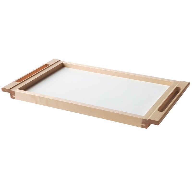 Nikari Arte Alvar tray, birch-white laminate