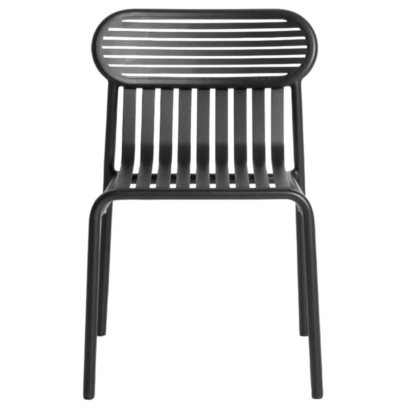 Petite Friture Week-end chair, black