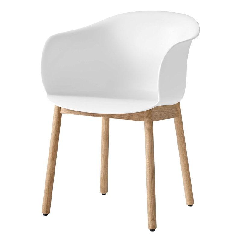 &Tradition Elefy JH30 chair, white - oak