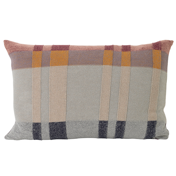 Ferm Living Medley Knit Cushion, Large, Mint