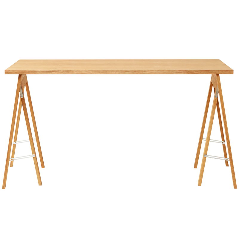 Wooden table: 125
