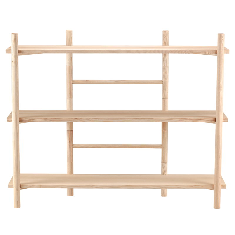Hakola Edit shelf, low