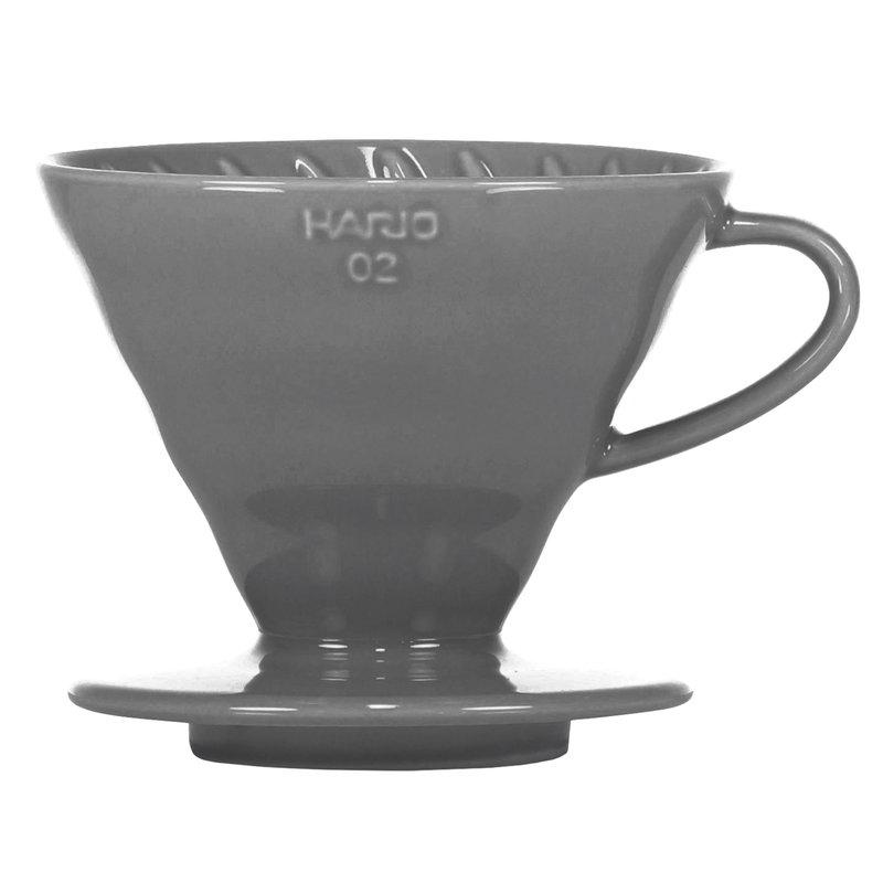 Hario Imbuto Hario V60 misura 02, porcellana grigia