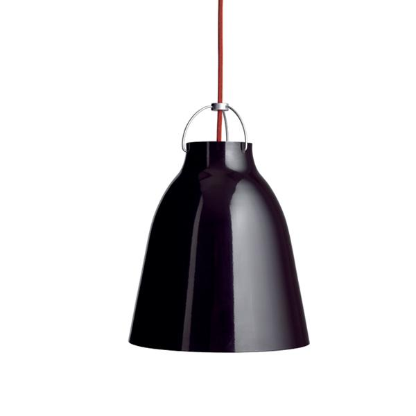 Fritz Hansen Caravaggio P2 lamp, black