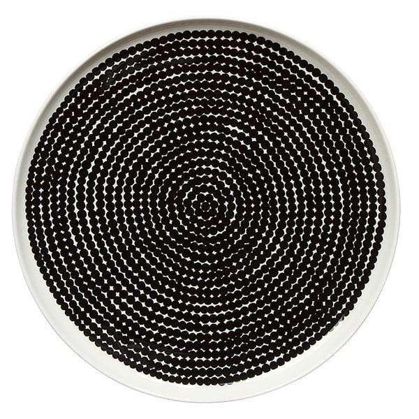 Marimekko Oiva - Siirtolapuutarha Räsymatto plate 25 cm