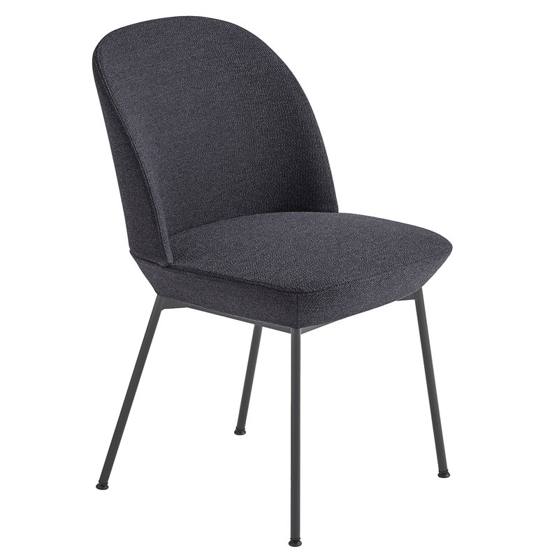 Muuto Oslo chair, Ocean 601 - anthracite