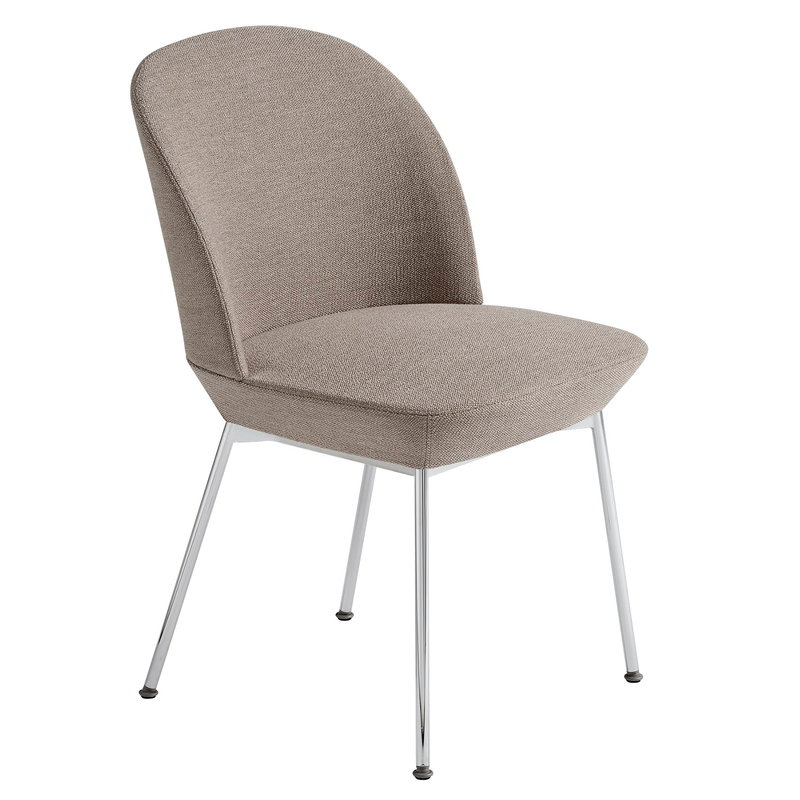 Muuto Oslo chair, Ocean 32 - chrome