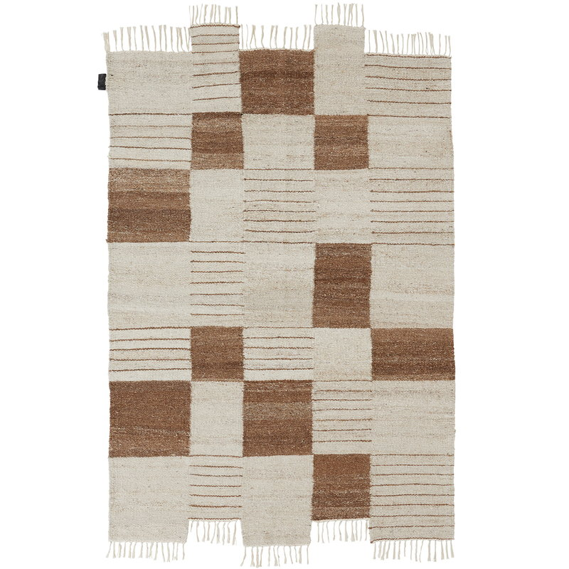 Sera Helsinki Palsta rug, off white - brown