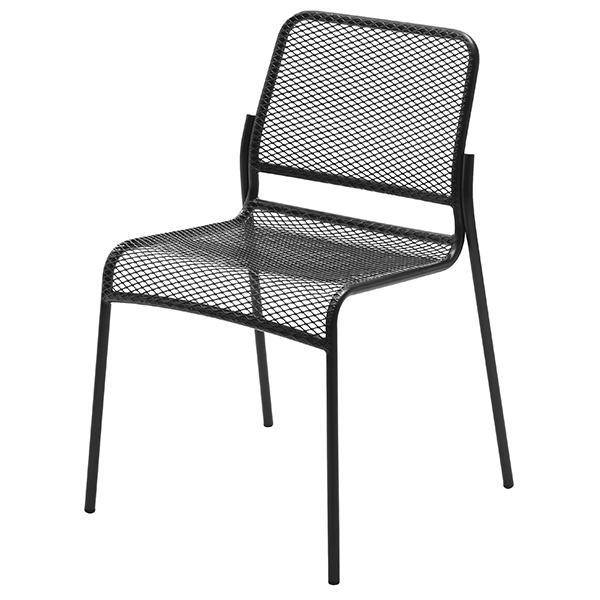 Skagerak Mira chair, anthracite black
