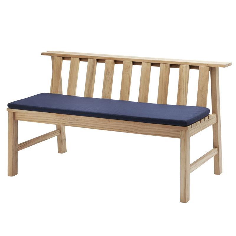 Skagerak Plank Bench penkin istuintyyny, sininen