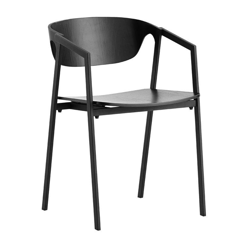 Woud S.A.C. tuoli, musta