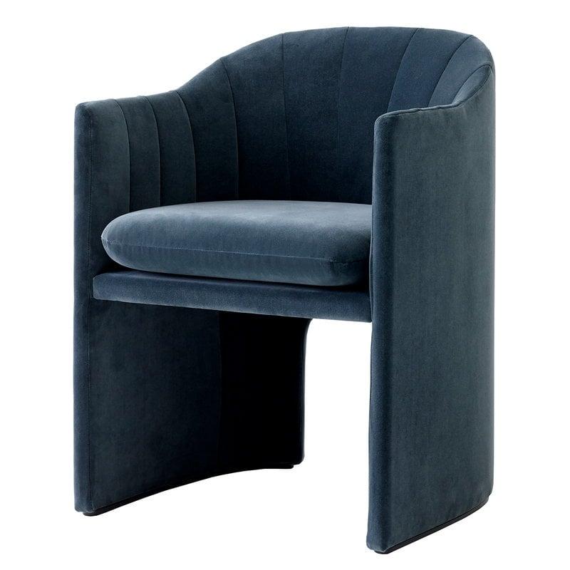&Tradition Loafer SC24 chair, Velvet 10 Twilight