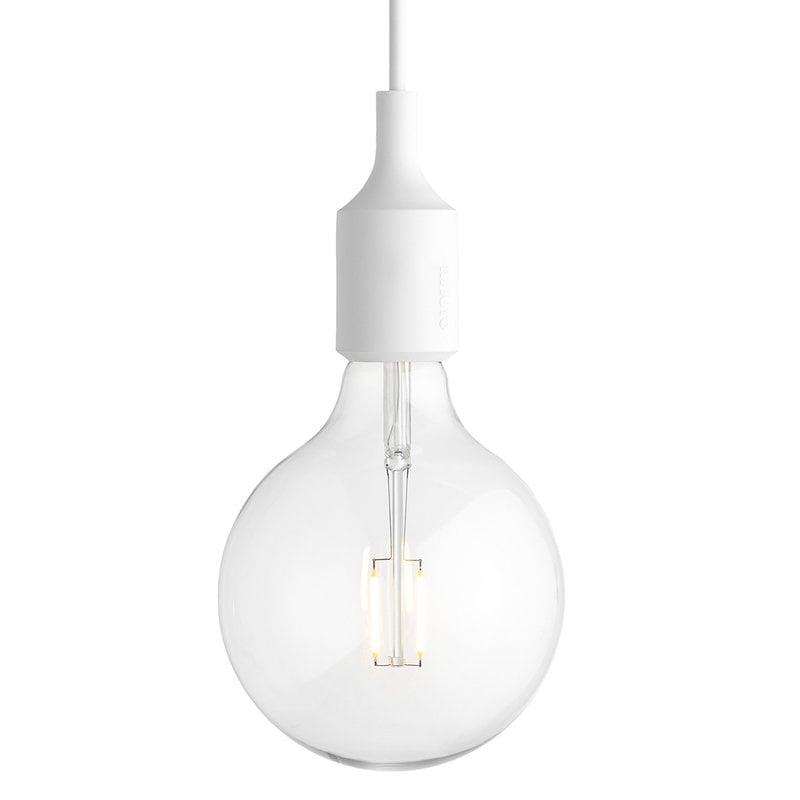 Muuto E27 LED pendant, white
