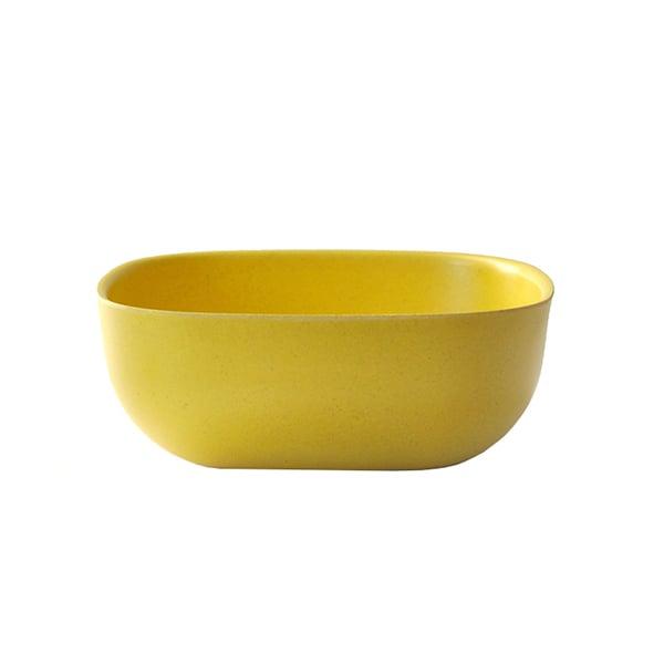 Ekobo Ciotola BIOBU Gusto, L, gialla