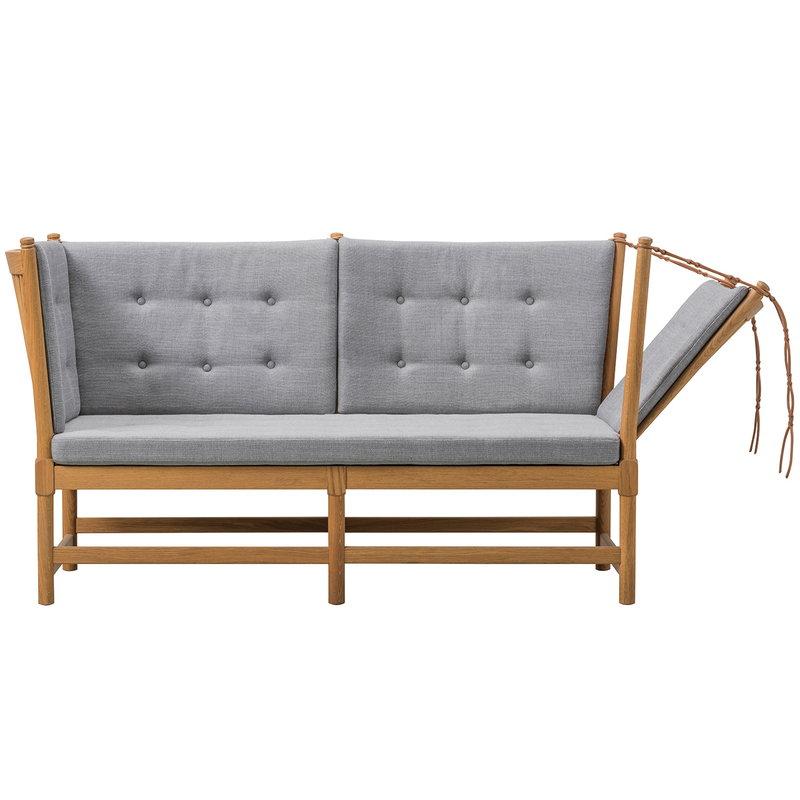 Fredericia Spoke-Back sofa, oak - Fiord 391