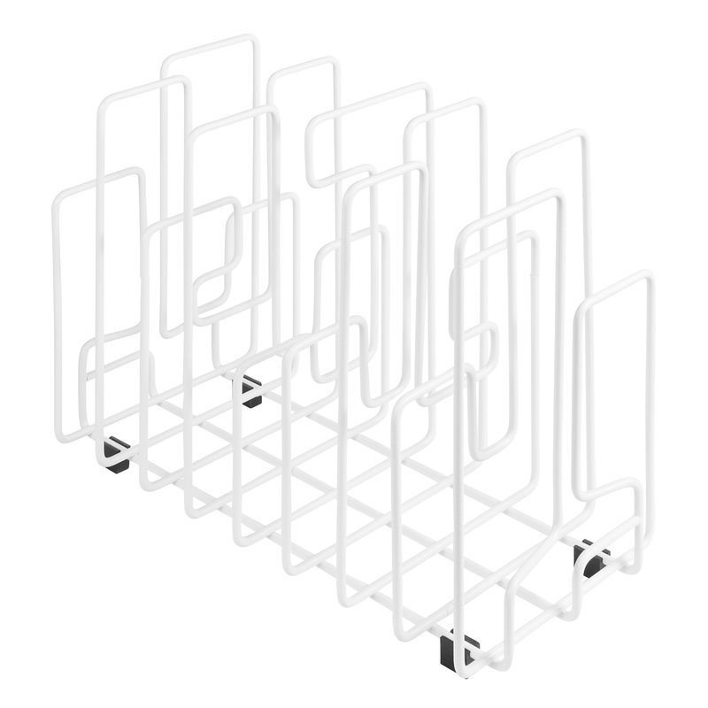 Maze In The Neighbourhood magazine holder, white