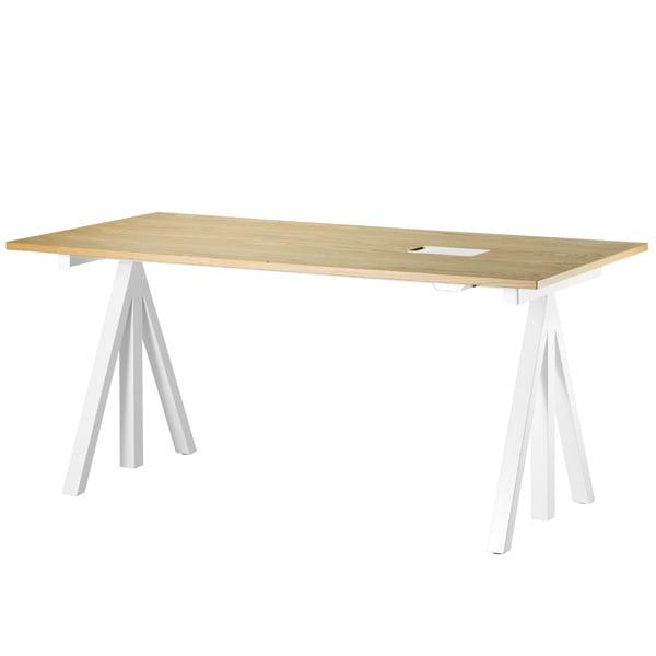 String String Works korkeussäädettävä pöytä 160 cm, tammi