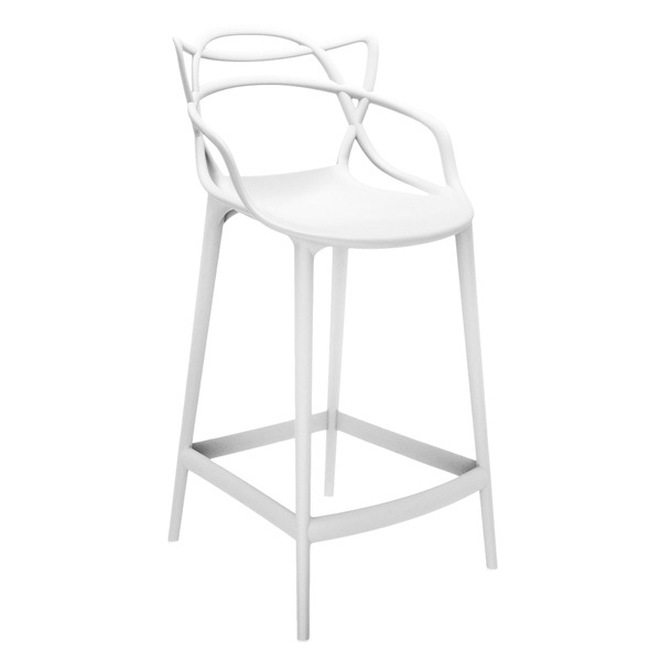 Kartell Sgabello Masters, bianco | Finnish Design Shop