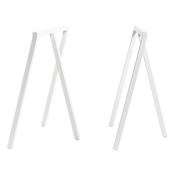Hay Loop Stand frame, 2 pcs, white
