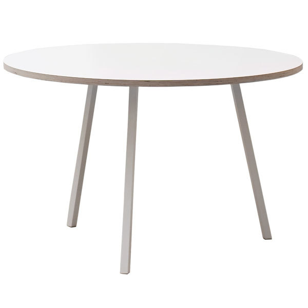 Hay Loop Stand round table 120 cm, white