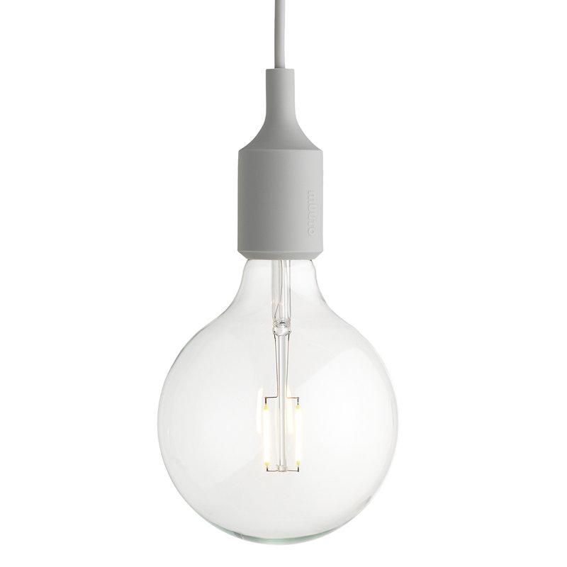 Muuto E27 LED pendant, light grey