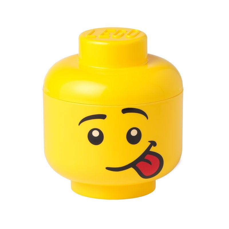 Room Copenhagen Lego Storage Head container, S, Silly