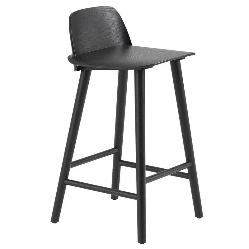 Muuto Nerd counter stool, 65 cm, black