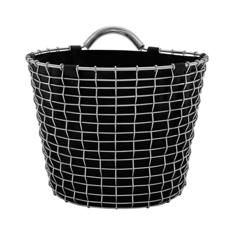 Korbo Basket Liner 16 L, musta