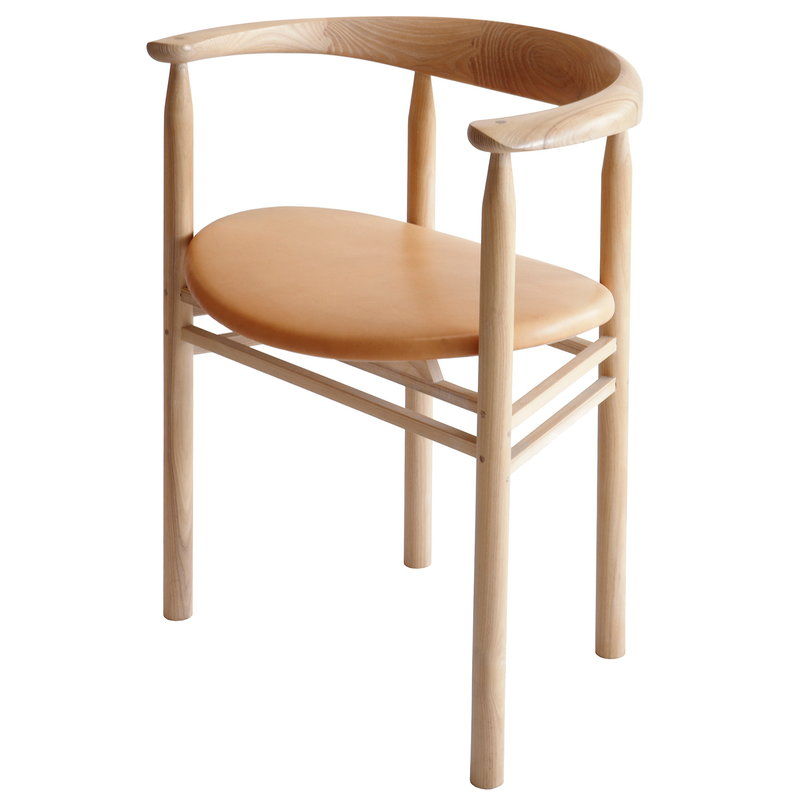 Nikari Linea RMT6 tuoli, saarni - nude nahka