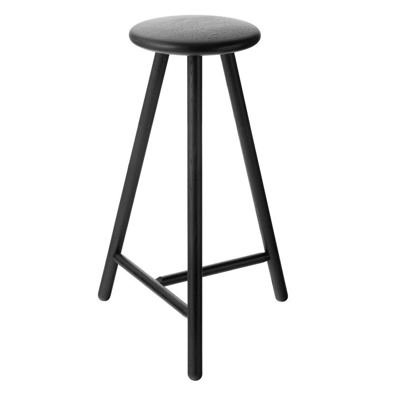 Nikari Perch bar stool 63 cm, black