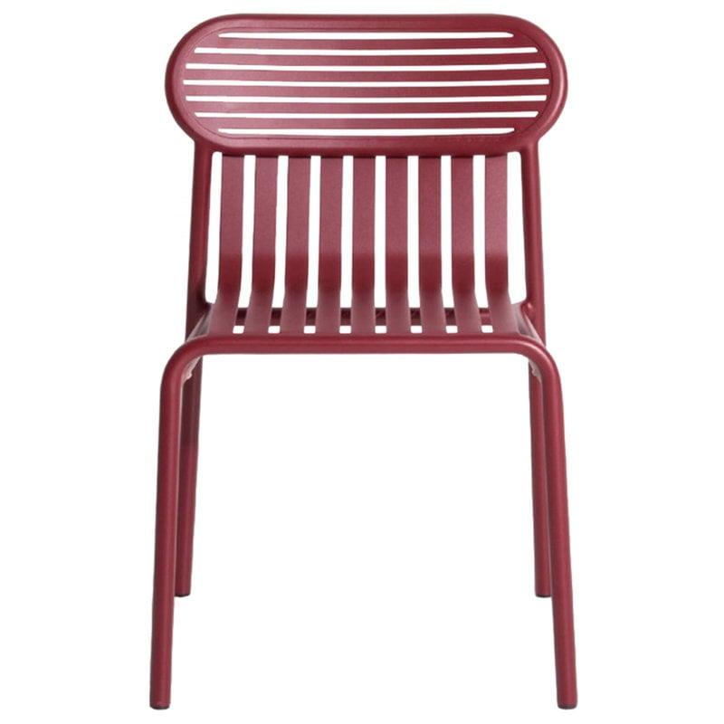 Petite Friture Week-end tuoli, burgundinpunainen