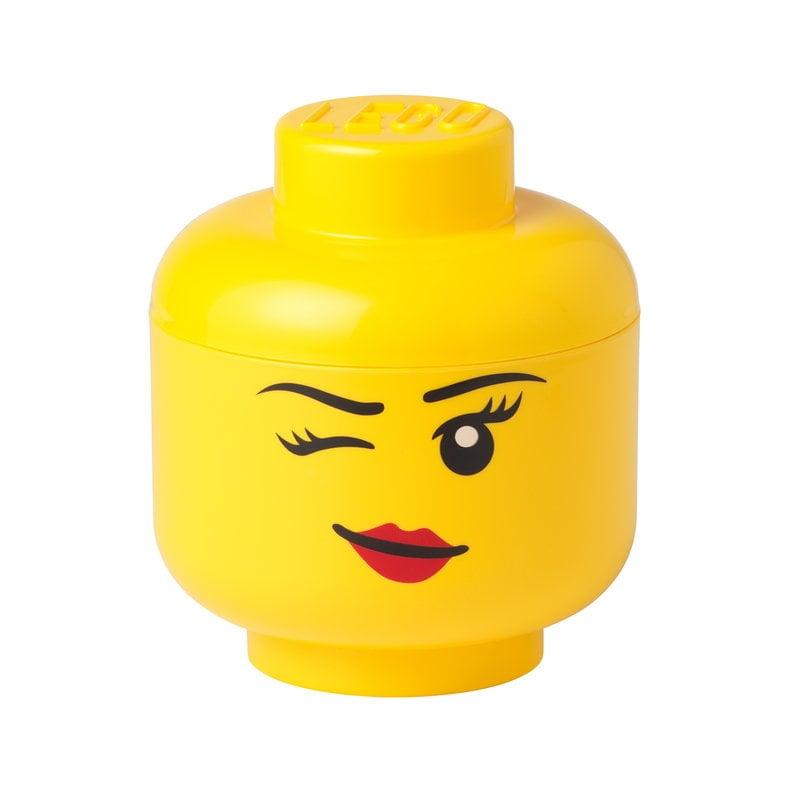 Room Copenhagen Lego Storage Head container, S, Winky