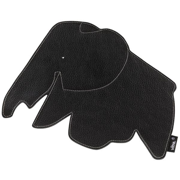 Vitra Elephant hiirimatto, musta
