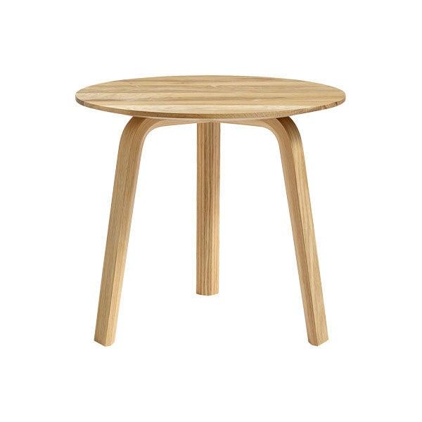 Hay Bella sivupöytä 45 cm, matala, öljytty tammi