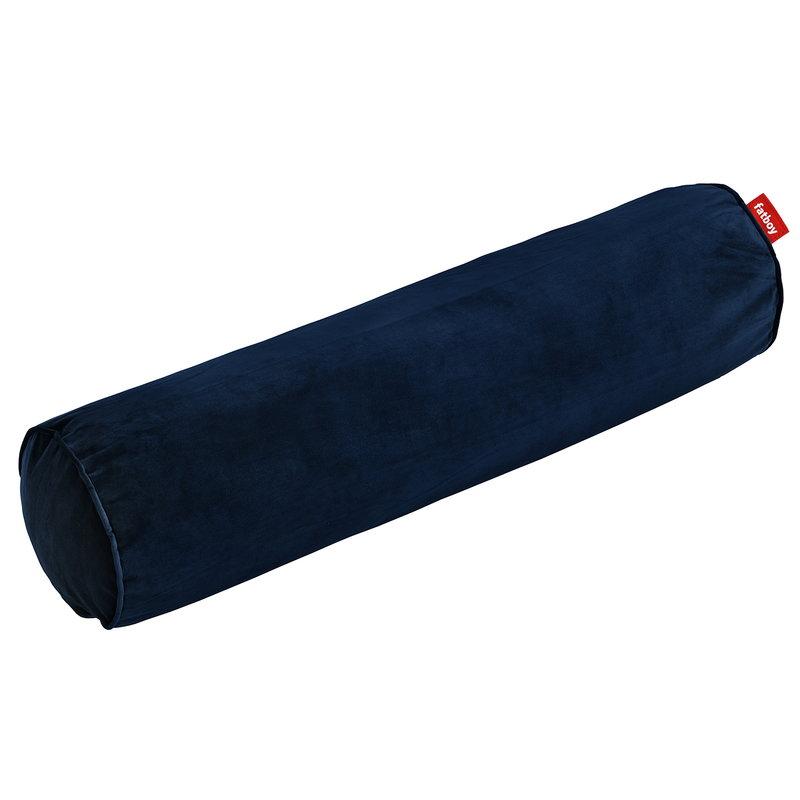 Fatboy Rolster Velvet pillow, dark blue